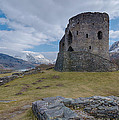 Dolbadarn Castle by Mike  Hardisty