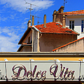 Dolce Vita Cafe In Saint-raphael France by Ben and Raisa Gertsberg