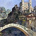 Dolceacqua by Claude Monet