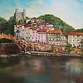 Dolceacqua Italy by Jean Walker