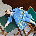 Doll And Camp Chairs 1800s by David Lee Thompson