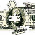 Dollar Puzzle-2 by Chris Van Es