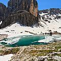 Dolomites - Pisciadu' Peak by Antonio Scarpi