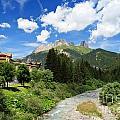 Dolomiti - Avisio Stream by Antonio Scarpi