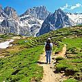 Dolomiti - Hiking In Contrin Valley by Antonio Scarpi