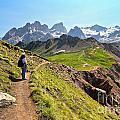 Dolomiti - Trekking In Val Ldi Fassa by Antonio Scarpi