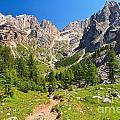 Dolomiti -landscape In Contrin Valley by Antonio Scarpi