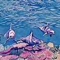 Dolphins by Alan Mintz