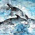 Dolphins In Gran Canaria by Miki De Goodaboom