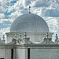 Dome Of San Xavier - Tucson Az by Jon Berghoff