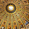 Dome Of St Peter's Basilica Vatican City Italy by Jon Berghoff
