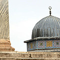 Dome Of The Rock Close Up by Munir Alawi