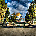Dome Of The Rock Hdr by David Morefield