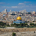 Dome Of The Rock In Jerusalem by David Morefield