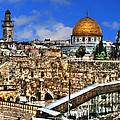 Old City Of Jerusalem by Doc Braham