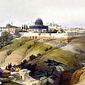 Dome Of The Rock by Munir Alawi