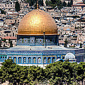 Dome Of The Rock by Uri Baruch