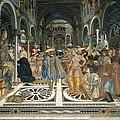 Domenico Di Bartolo 1400-1447. Pope by Everett