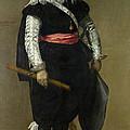 Don Adrian Pulido Pareja by Juan Bautista Martinez del Mazo