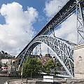 Don Luis Bridge In Oporto by Oscar Hurtado