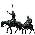 Don Quixote And Sancho Panza  by Fabrizio Troiani