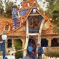 Donalds Boat Disneyland Toon Town Photo Art 02 by Thomas Woolworth
