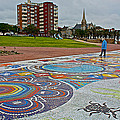 Donkin Reserve In Port Elizabeth-south Africa  by Ruth Hager