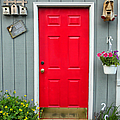 Donna's Red Friendship Door by Thomas Woolworth