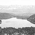 Donner Lake Sierra Nevada by Frank Wilson