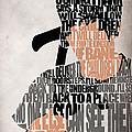 Donnie Darko Minimalist Typography Artwork by Inspirowl Design