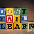 Dont Fail Learn by Art Whitton