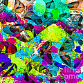 Dont Fall On The Road 3d Abstract I by Debbie Portwood