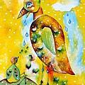 Don't Worry Big Big Bird by Leona Tobin