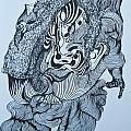 Doodle - 04 by James Lavott