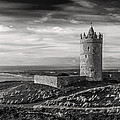 Doonagore Castle Black And White by Pierre Leclerc Photography
