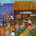 Door County Scene by Pat Olson