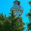 Door County Wi Lighthouse by Tommy Anderson