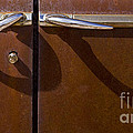 Door Handle Shadows   #0969 by J L Woody Wooden