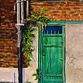 Door In New Orleans by Dan Redmon