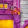Door - Lavender by Mike Savad
