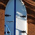 Door Of Baptist Union Church Katoomba by Yew Kwang