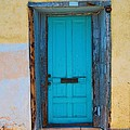 Door On Adobe House by Richard Jenkins