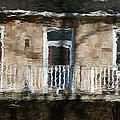 Door Reflections 2 In Perth Ontario by Rob Huntley