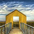 Door To The Marshlands by SC Heffner