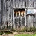 Barn Door With A Window by Gej Jones