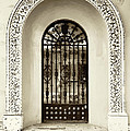 Door With Decorated Arch by Roberto Pagani