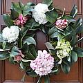 Door Wreath by Linda Covino