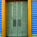 Doors And Windows Buenos Aires 14 by Bob Christopher