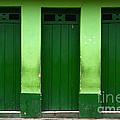 Doors And Windows Lencois Brazil 1 by Bob Christopher