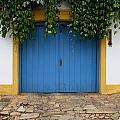 Doors And Windows Minas Gerais State Brazil 11 by Bob Christopher